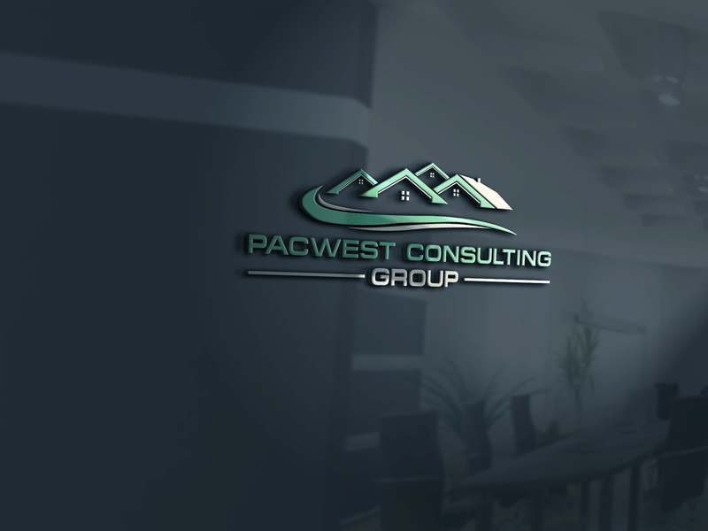 Logo Design by Private User - Entry No. 45 in the Logo Design Contest Imaginative Logo Design for Pacwest Consulting Group.