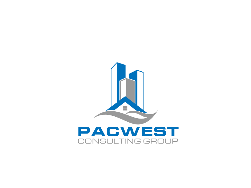 Logo Design by Private User - Entry No. 55 in the Logo Design Contest Imaginative Logo Design for Pacwest Consulting Group.