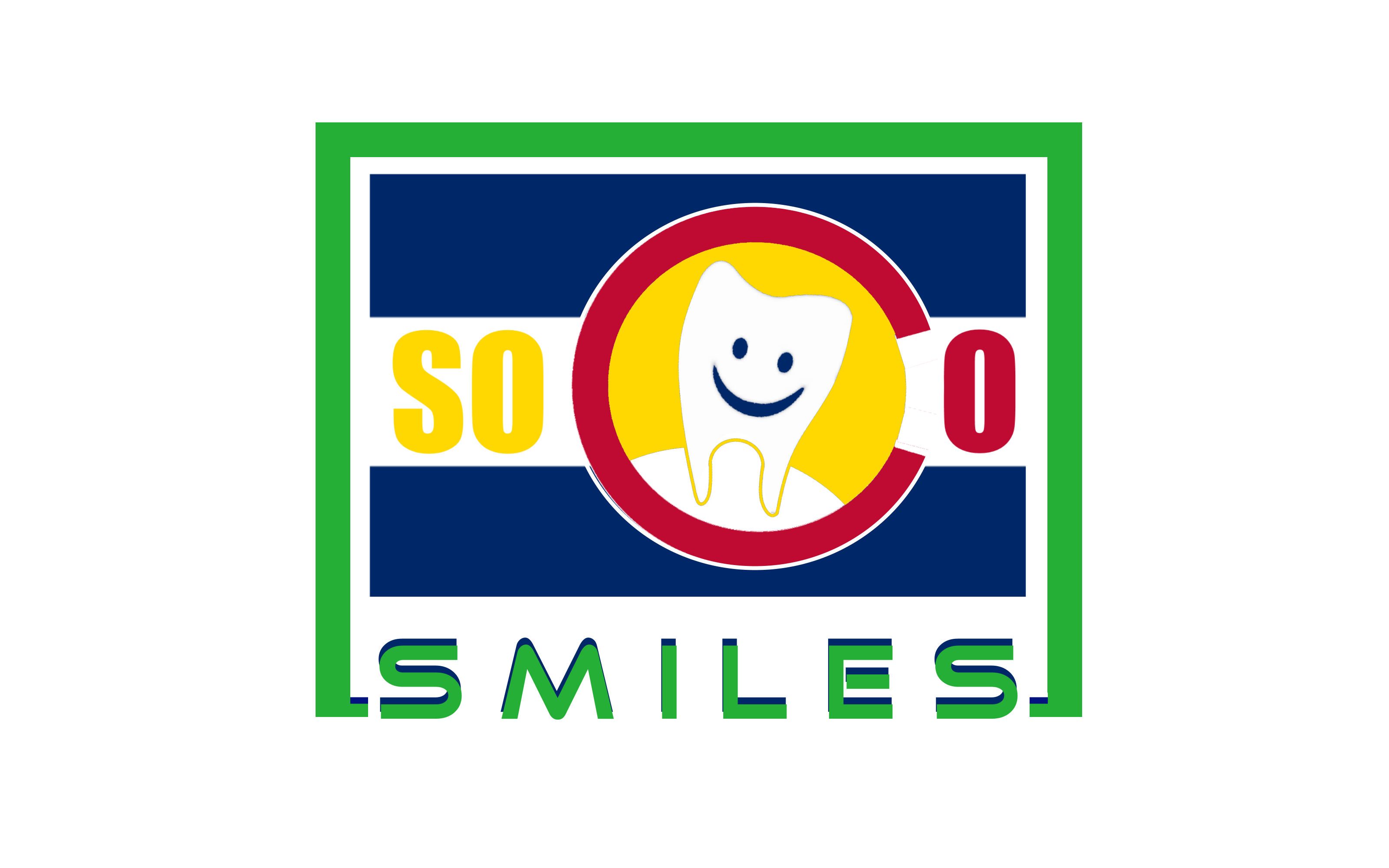 Logo Design by Roberto Bassi - Entry No. 61 in the Logo Design Contest Unique Logo Design Wanted for SoCO Smiles Orthodontics.