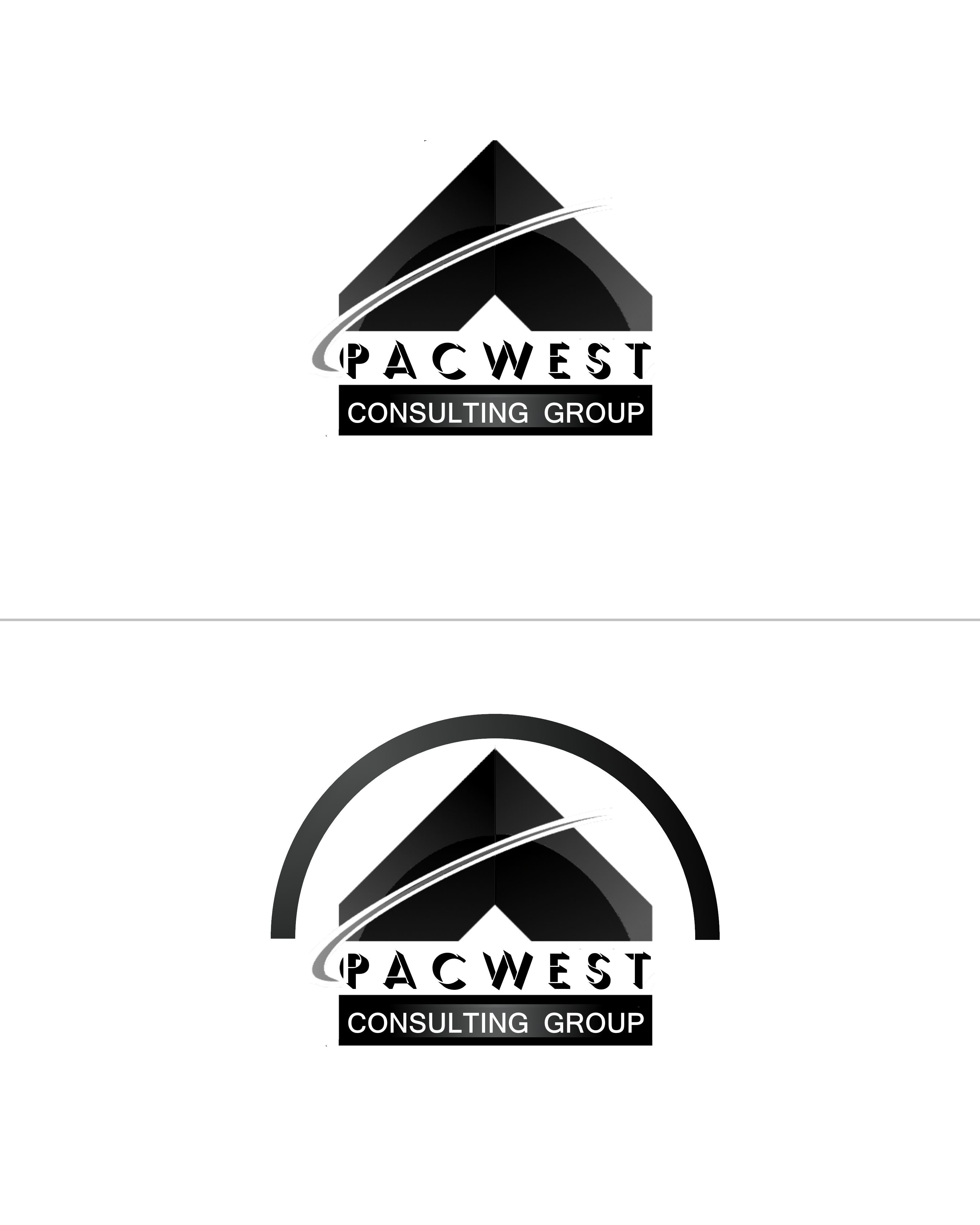 Logo Design by Roberto Bassi - Entry No. 57 in the Logo Design Contest Imaginative Logo Design for Pacwest Consulting Group.
