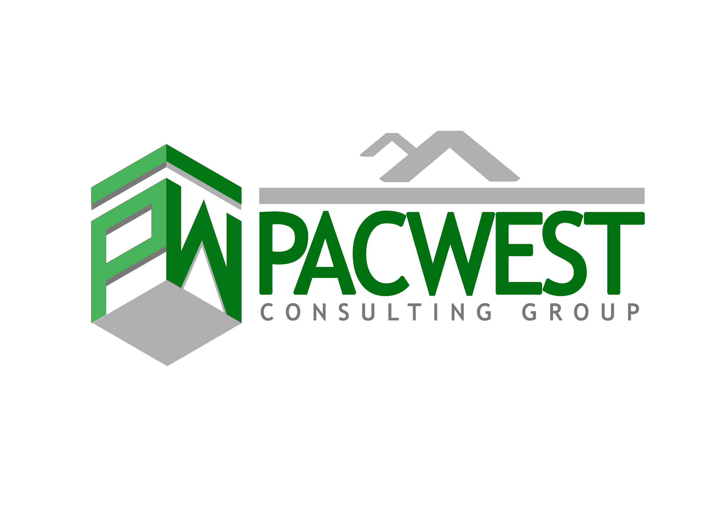 Logo Design by JR Cantos - Entry No. 60 in the Logo Design Contest Imaginative Logo Design for Pacwest Consulting Group.