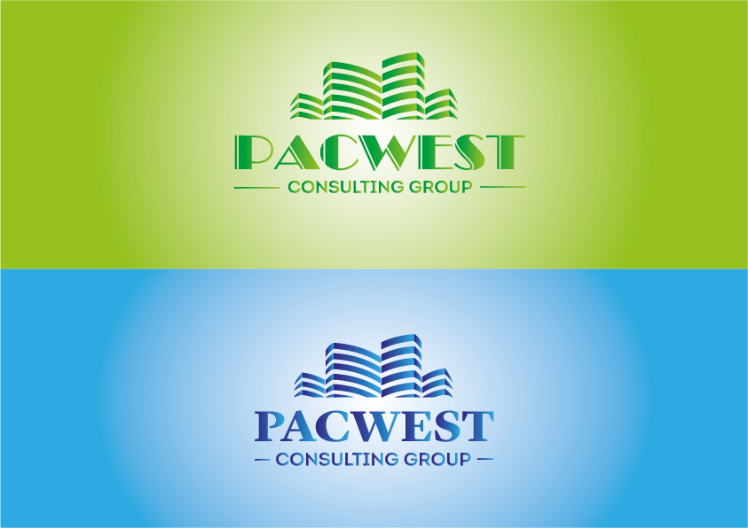 Logo Design by Evo-design - Entry No. 64 in the Logo Design Contest Imaginative Logo Design for Pacwest Consulting Group.