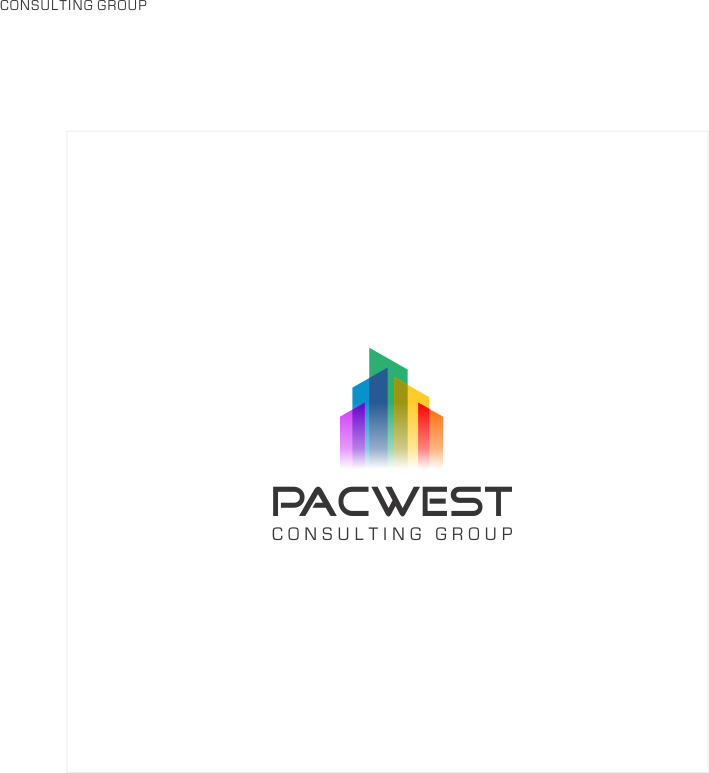 Logo Design by Gagak_Jingga - Entry No. 67 in the Logo Design Contest Imaginative Logo Design for Pacwest Consulting Group.