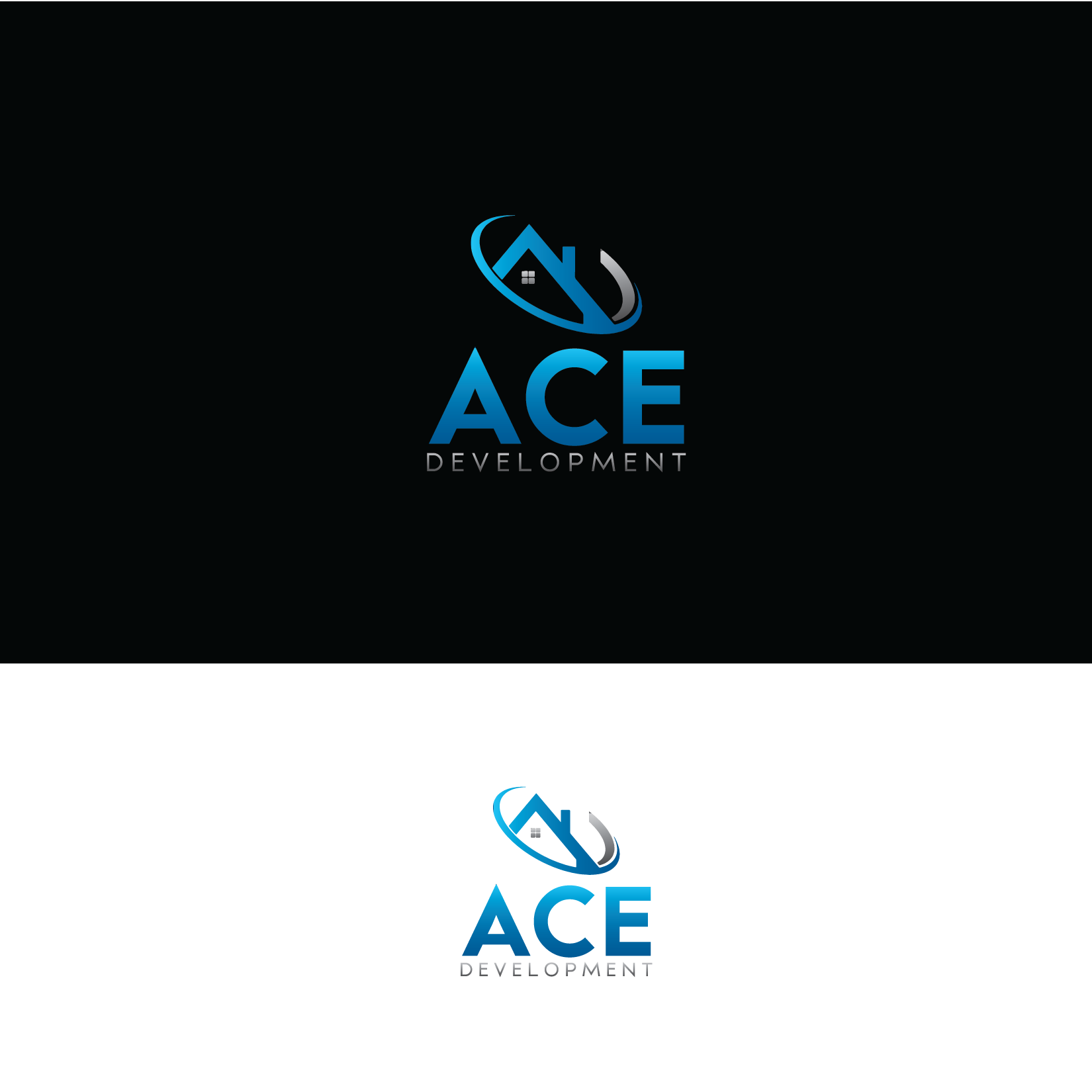 Logo Design by Private User - Entry No. 97 in the Logo Design Contest Fun Logo Design for Ace development.
