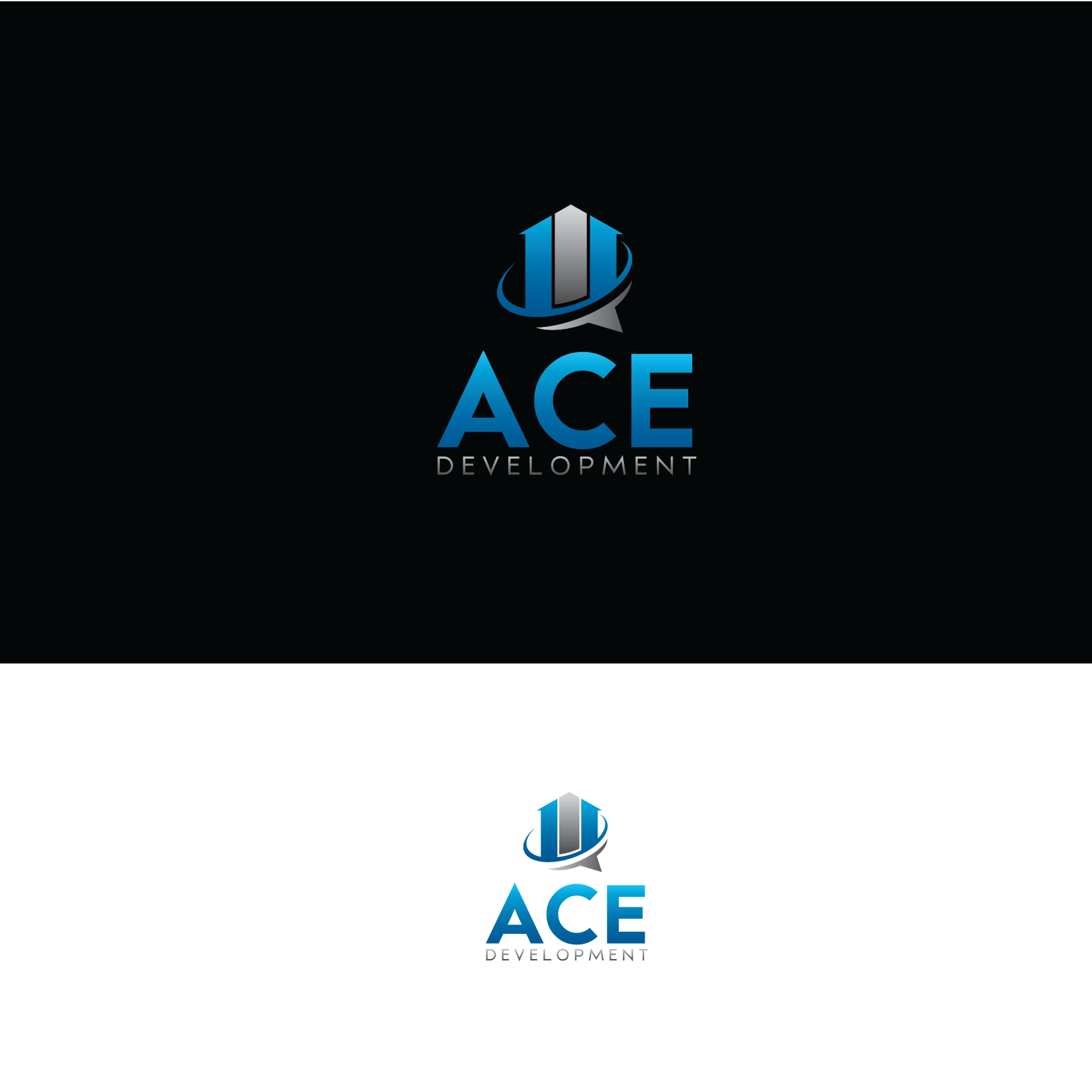 Logo Design by Private User - Entry No. 100 in the Logo Design Contest Fun Logo Design for Ace development.
