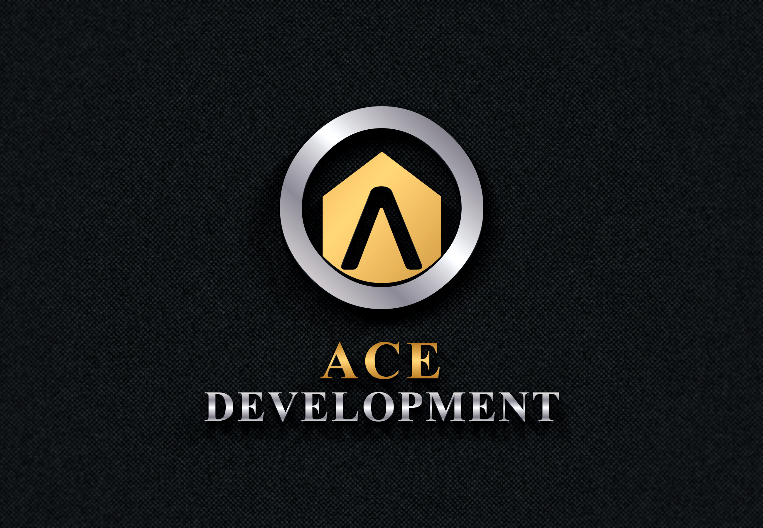 Logo Design by Umair ahmed Iqbal - Entry No. 103 in the Logo Design Contest Fun Logo Design for Ace development.