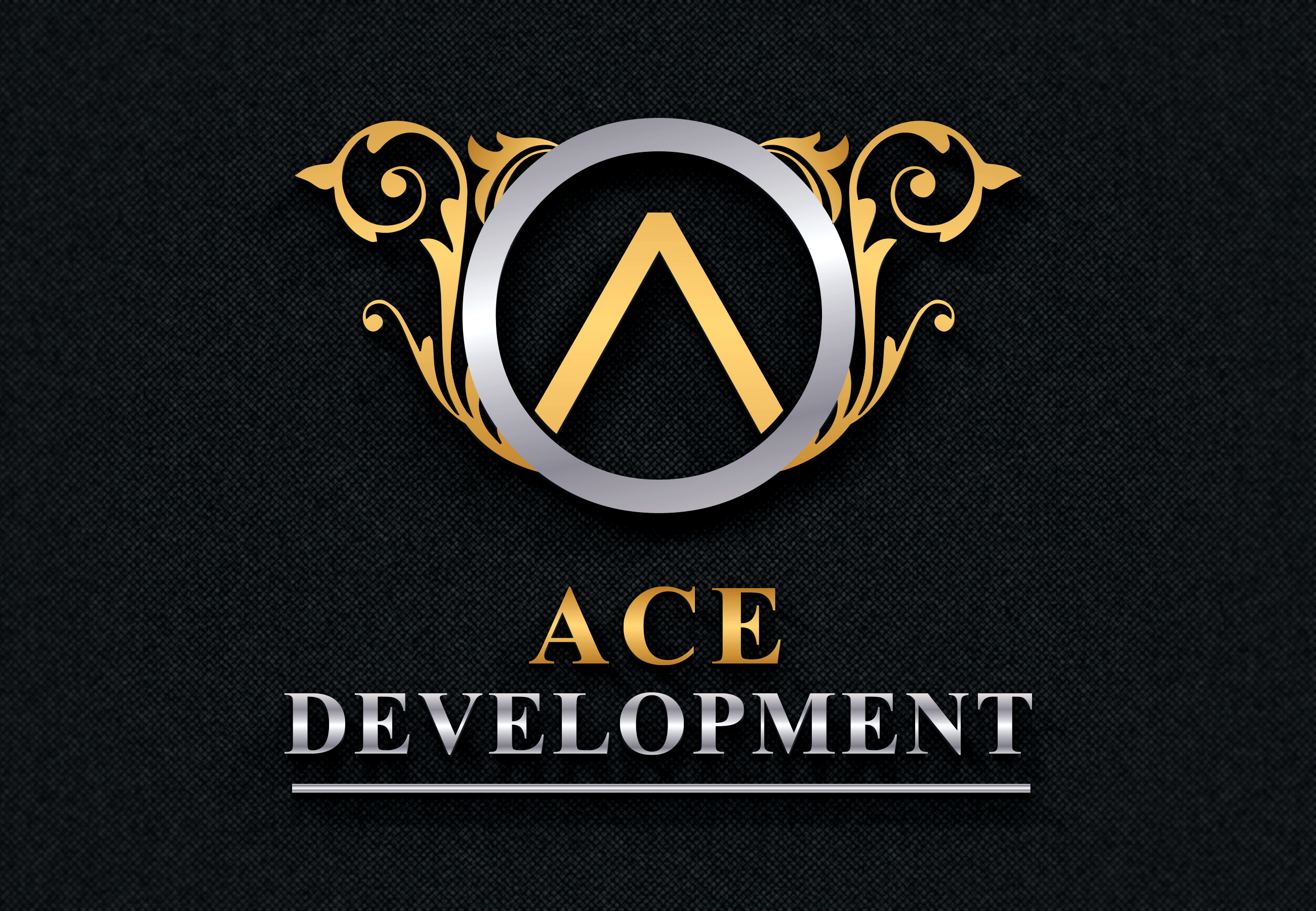Logo Design by Umair ahmed Iqbal - Entry No. 104 in the Logo Design Contest Fun Logo Design for Ace development.