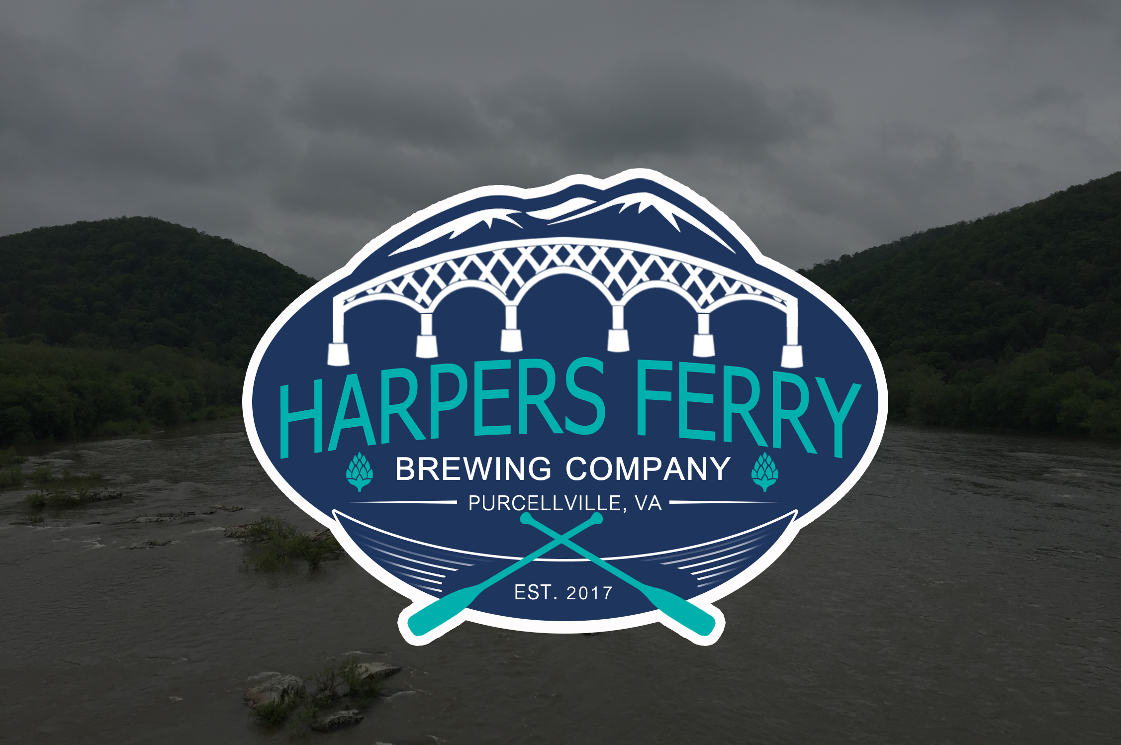 Logo Design by JSDESIGNGROUP - Entry No. 77 in the Logo Design Contest Unique Logo Design Wanted for Harpers ferry brewing company.