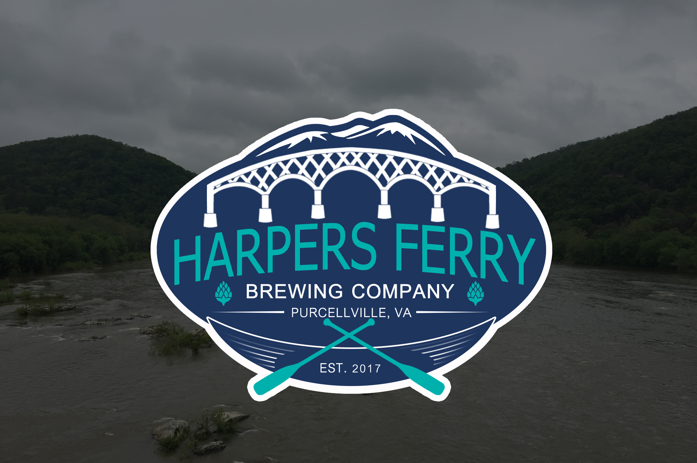 Logo Design by JSDESIGNGROUP - Entry No. 79 in the Logo Design Contest Unique Logo Design Wanted for Harpers ferry brewing company.
