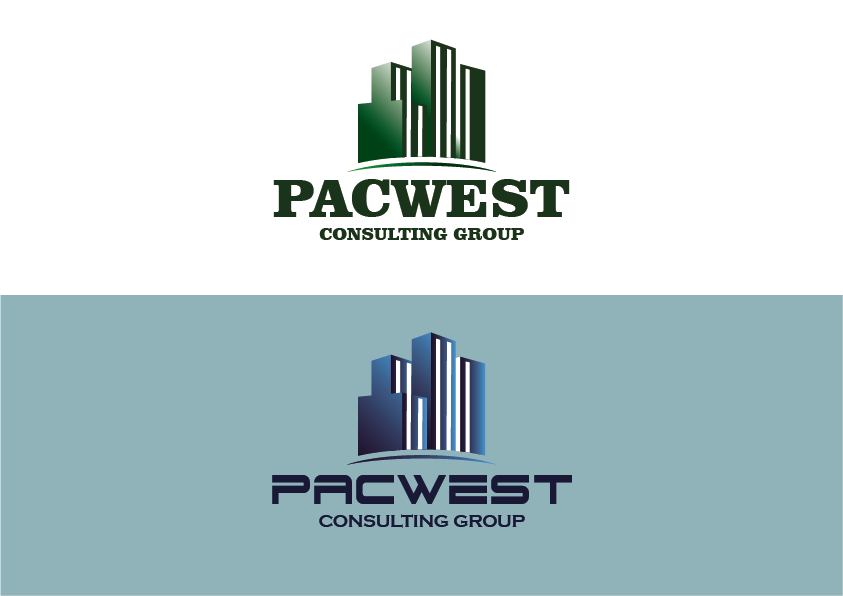 Logo Design by Evo-design - Entry No. 77 in the Logo Design Contest Imaginative Logo Design for Pacwest Consulting Group.