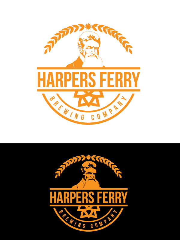 Logo Design by Private User - Entry No. 91 in the Logo Design Contest Unique Logo Design Wanted for Harpers ferry brewing company.