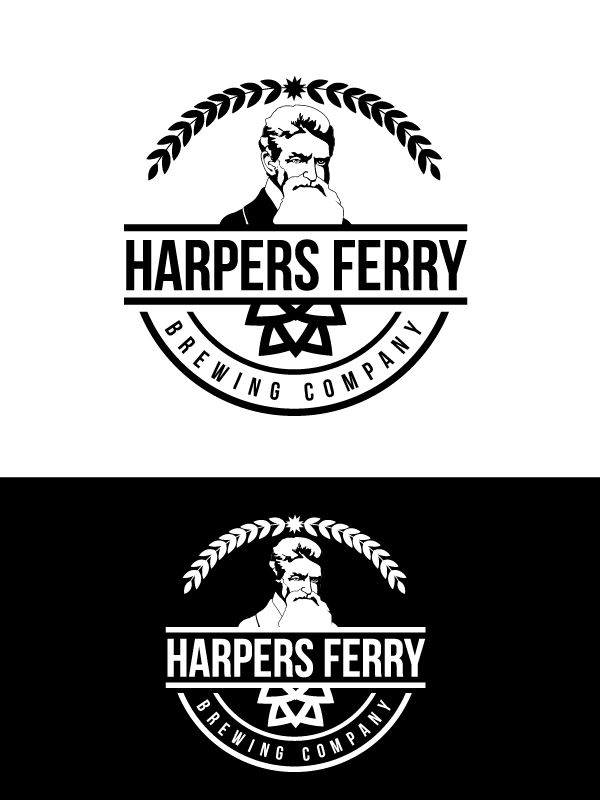 Logo Design by Private User - Entry No. 92 in the Logo Design Contest Unique Logo Design Wanted for Harpers ferry brewing company.