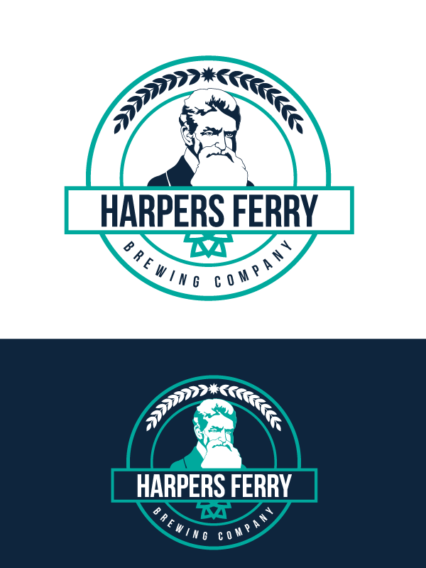 Logo Design by Private User - Entry No. 98 in the Logo Design Contest Unique Logo Design Wanted for Harpers ferry brewing company.