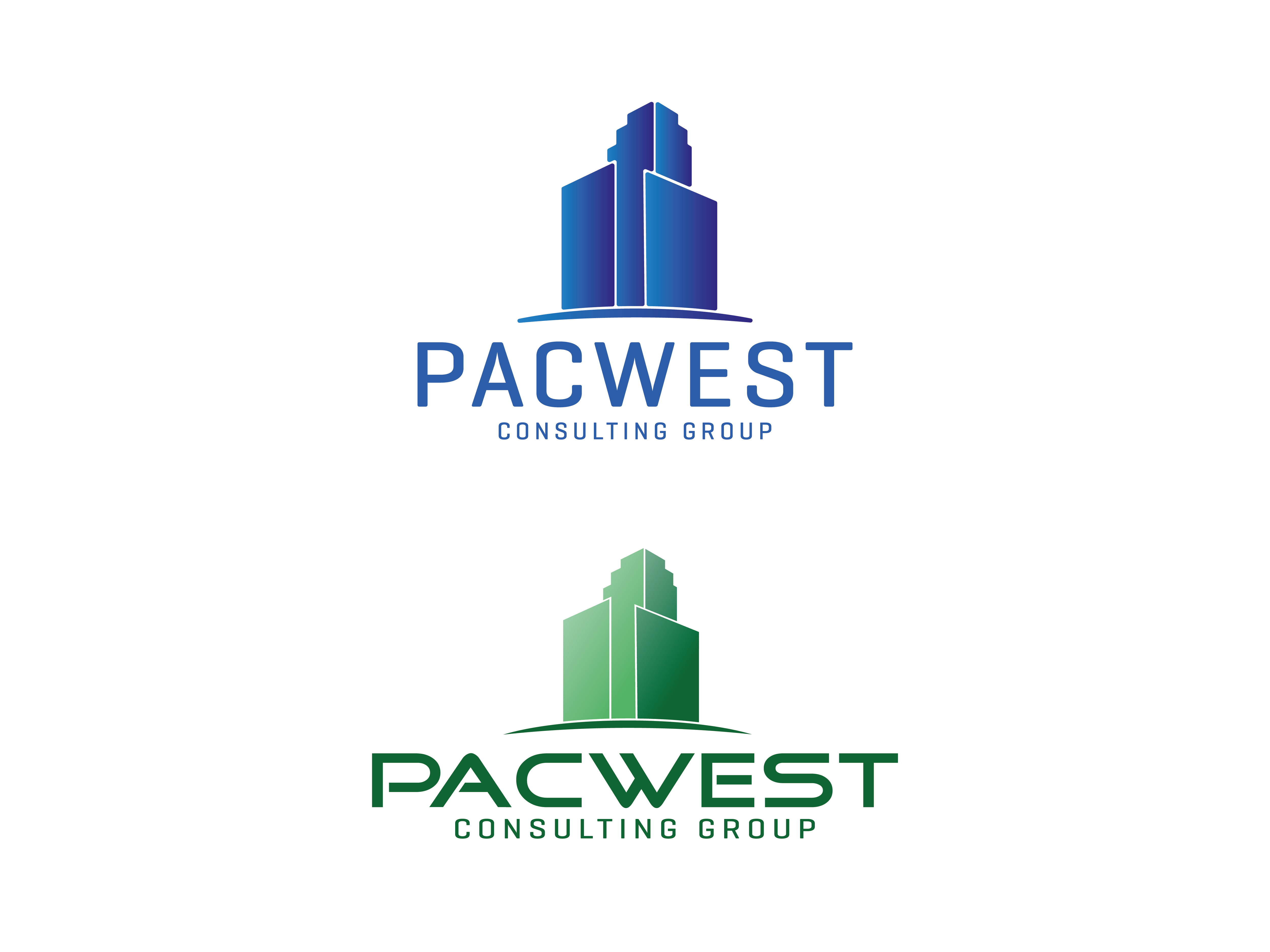Logo Design by Evo-design - Entry No. 81 in the Logo Design Contest Imaginative Logo Design for Pacwest Consulting Group.