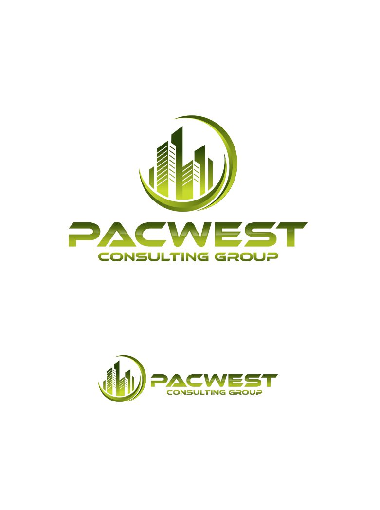 Logo Design by Raymond Garcia - Entry No. 89 in the Logo Design Contest Imaginative Logo Design for Pacwest Consulting Group.