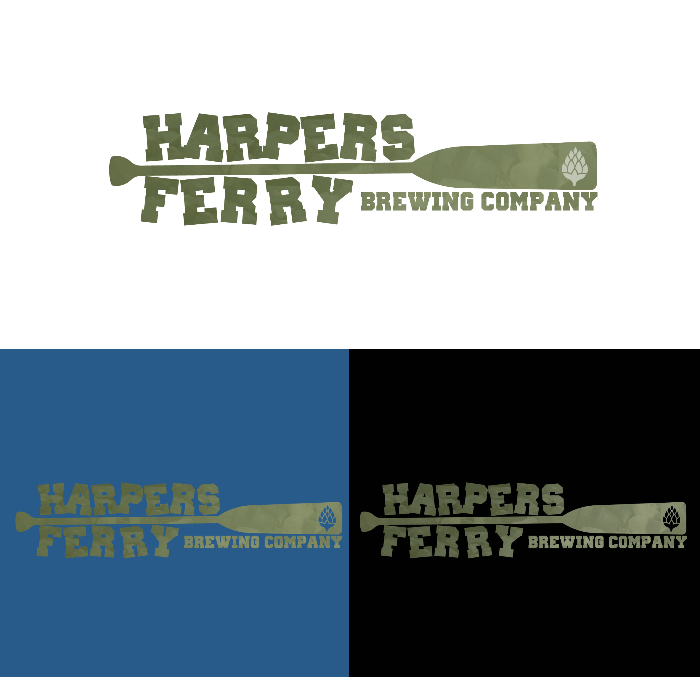 Logo Design by JSDESIGNGROUP - Entry No. 104 in the Logo Design Contest Unique Logo Design Wanted for Harpers ferry brewing company.