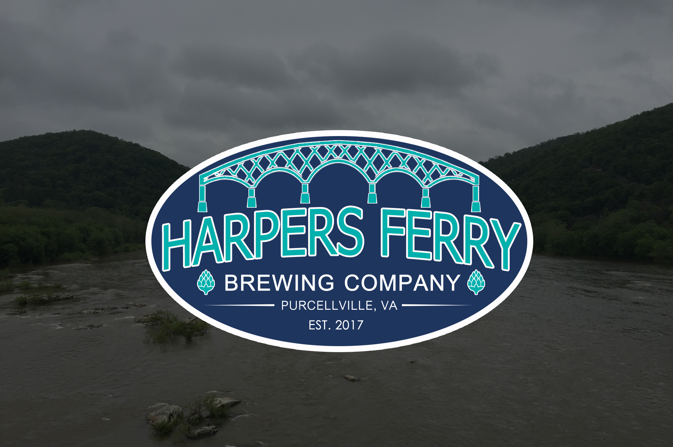 Logo Design by JSDESIGNGROUP - Entry No. 107 in the Logo Design Contest Unique Logo Design Wanted for Harpers ferry brewing company.