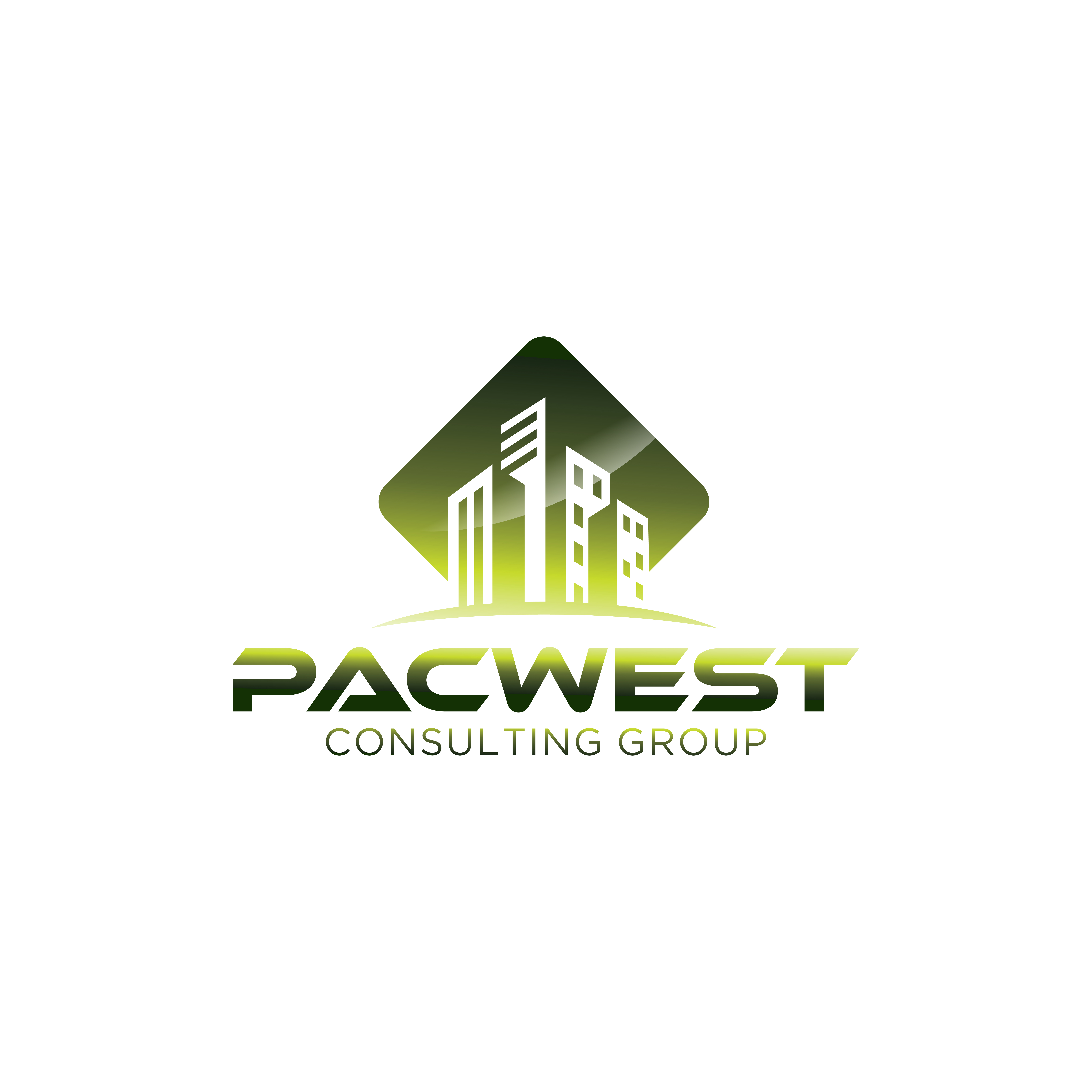 Logo Design by RasYa Muhammad Athaya - Entry No. 95 in the Logo Design Contest Imaginative Logo Design for Pacwest Consulting Group.