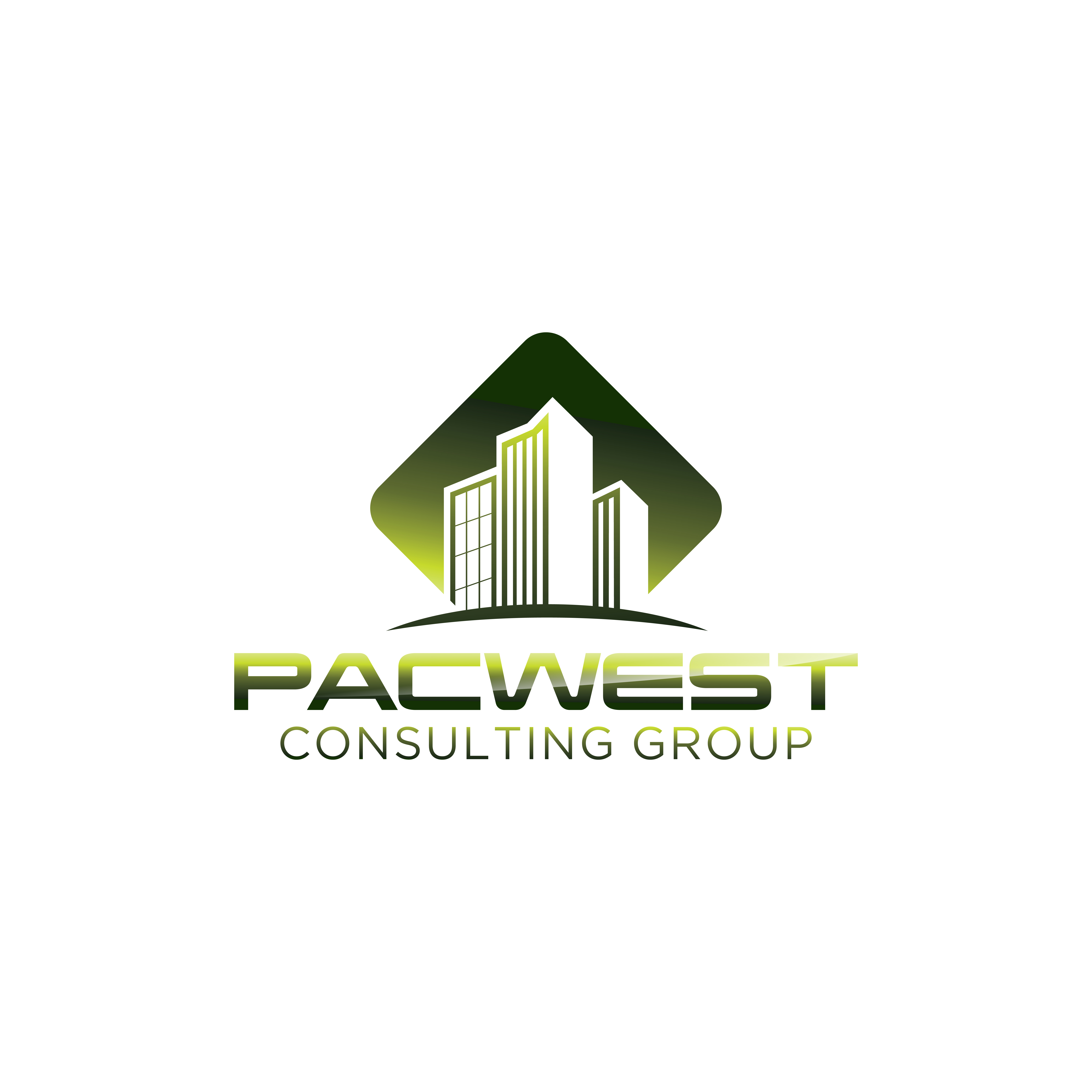 Logo Design by RasYa Muhammad Athaya - Entry No. 96 in the Logo Design Contest Imaginative Logo Design for Pacwest Consulting Group.