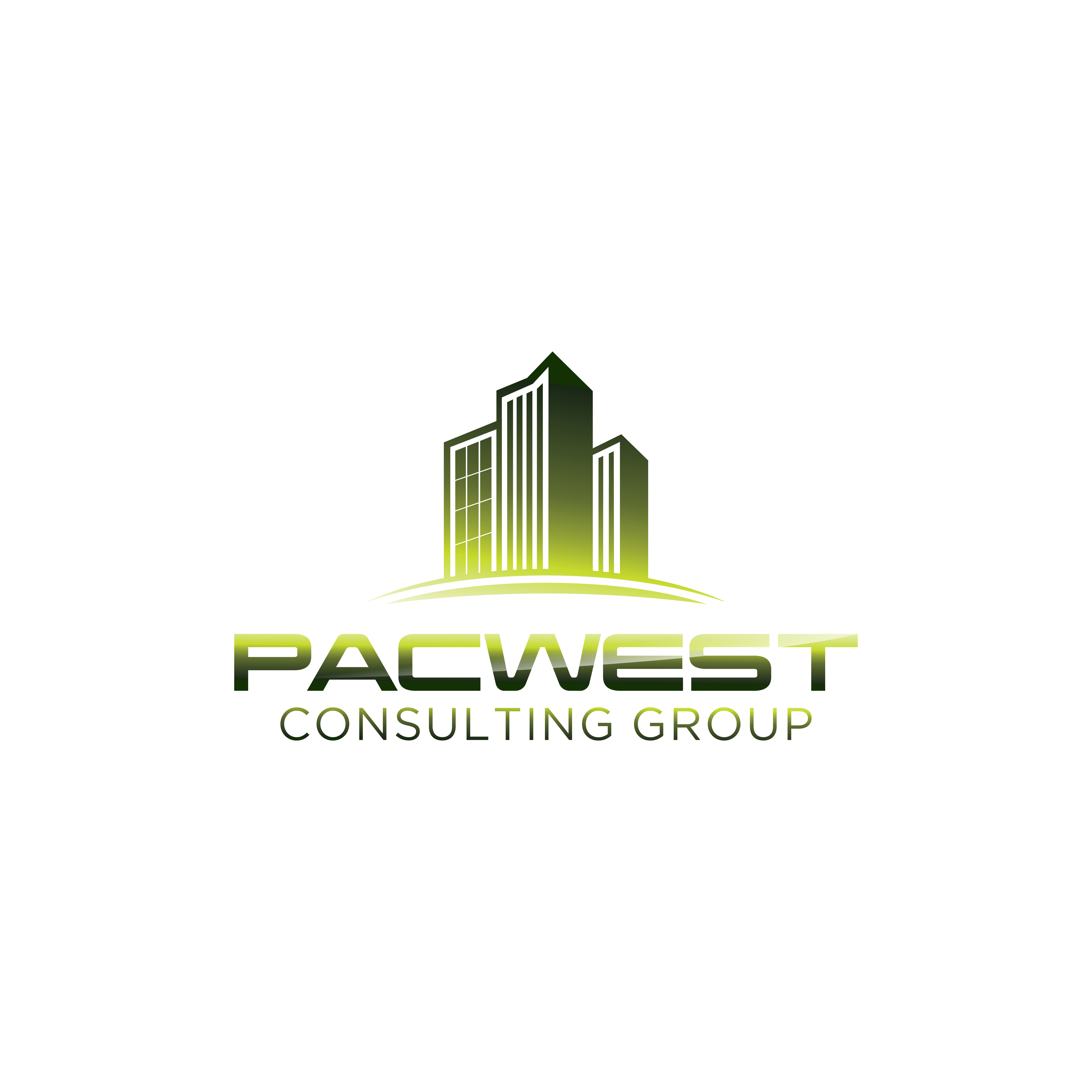 Logo Design by RasYa Muhammad Athaya - Entry No. 97 in the Logo Design Contest Imaginative Logo Design for Pacwest Consulting Group.