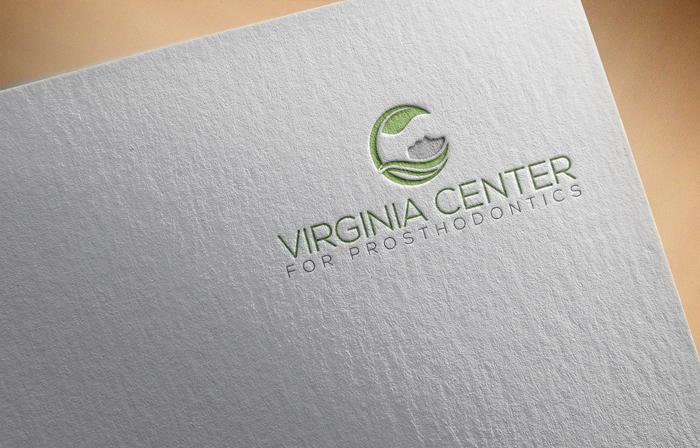Logo Design by Mohammad azad Hossain - Entry No. 6 in the Logo Design Contest Imaginative Logo Design for Virginia Center for Prosthodontics.