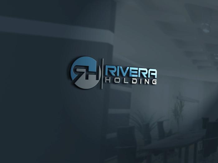 Logo Design by Mohammad azad Hossain - Entry No. 4 in the Logo Design Contest RIVERA HOLDING Logo Design.