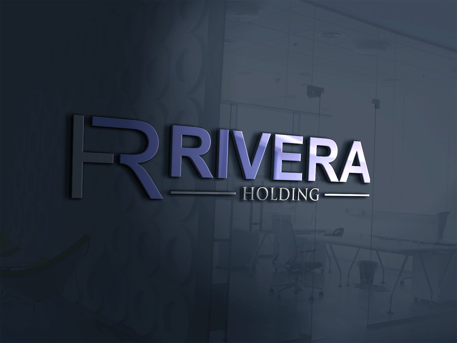 Logo Design by Shahnawaz Ahmed - Entry No. 8 in the Logo Design Contest RIVERA HOLDING Logo Design.