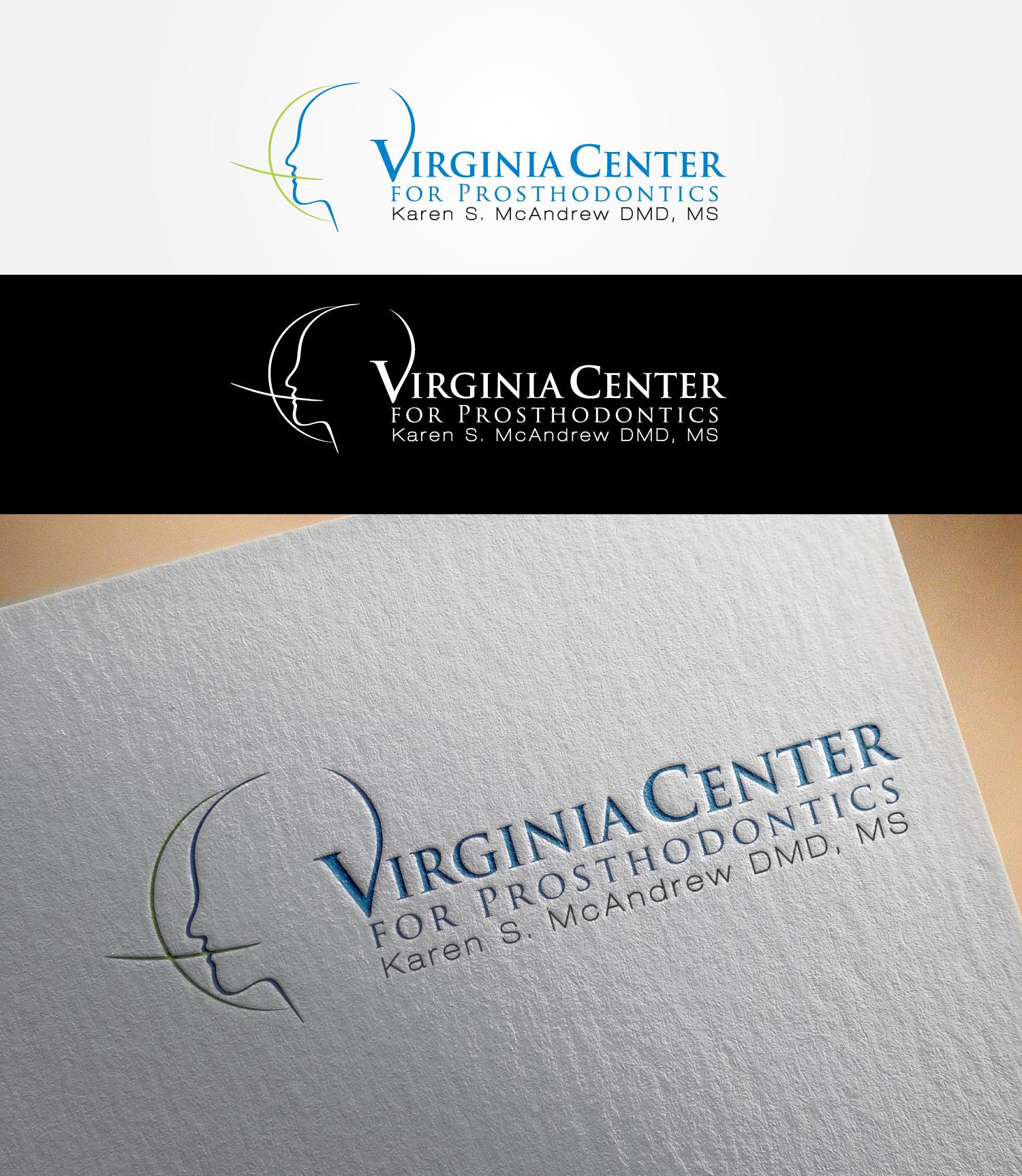Logo Design by MD SHOHIDUL ISLAM - Entry No. 18 in the Logo Design Contest Imaginative Logo Design for Virginia Center for Prosthodontics.