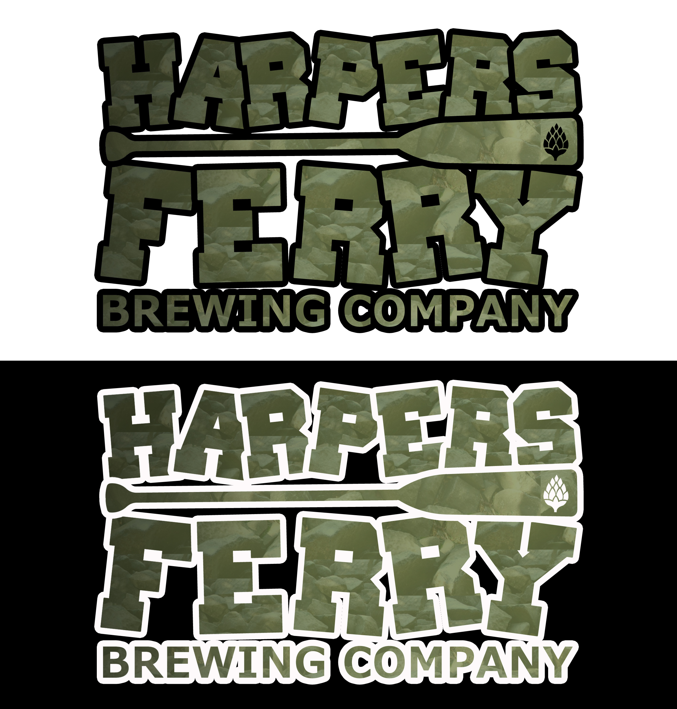 Logo Design by JSDESIGNGROUP - Entry No. 114 in the Logo Design Contest Unique Logo Design Wanted for Harpers ferry brewing company.