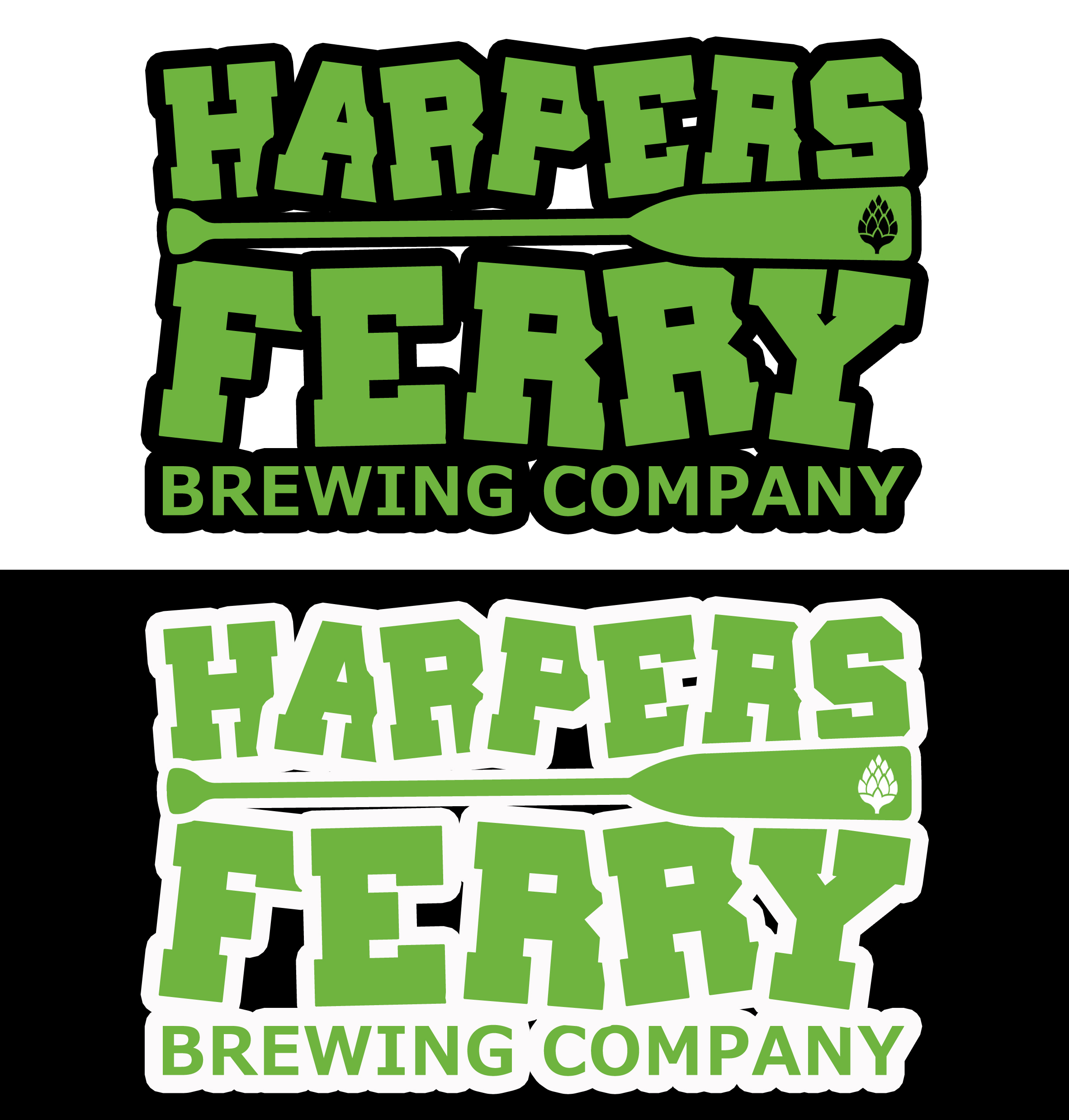 Logo Design by JSDESIGNGROUP - Entry No. 115 in the Logo Design Contest Unique Logo Design Wanted for Harpers ferry brewing company.