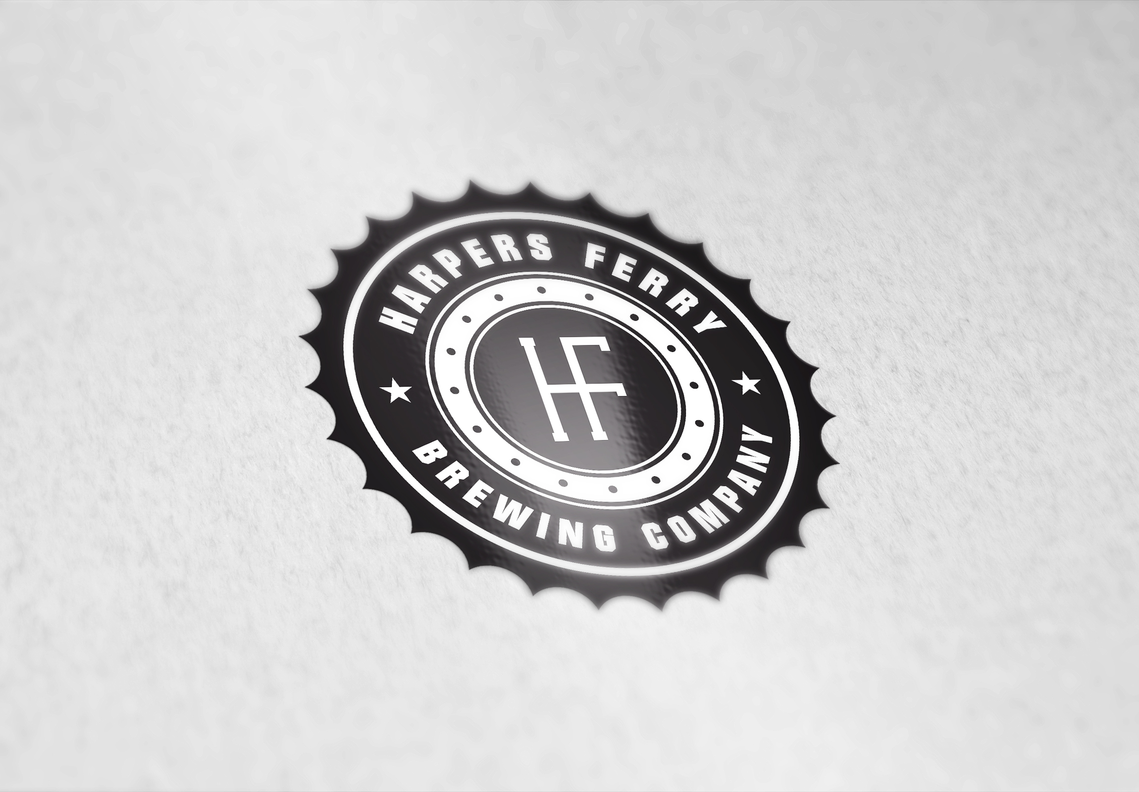 Logo Design by Vivek Das - Entry No. 117 in the Logo Design Contest Unique Logo Design Wanted for Harpers ferry brewing company.