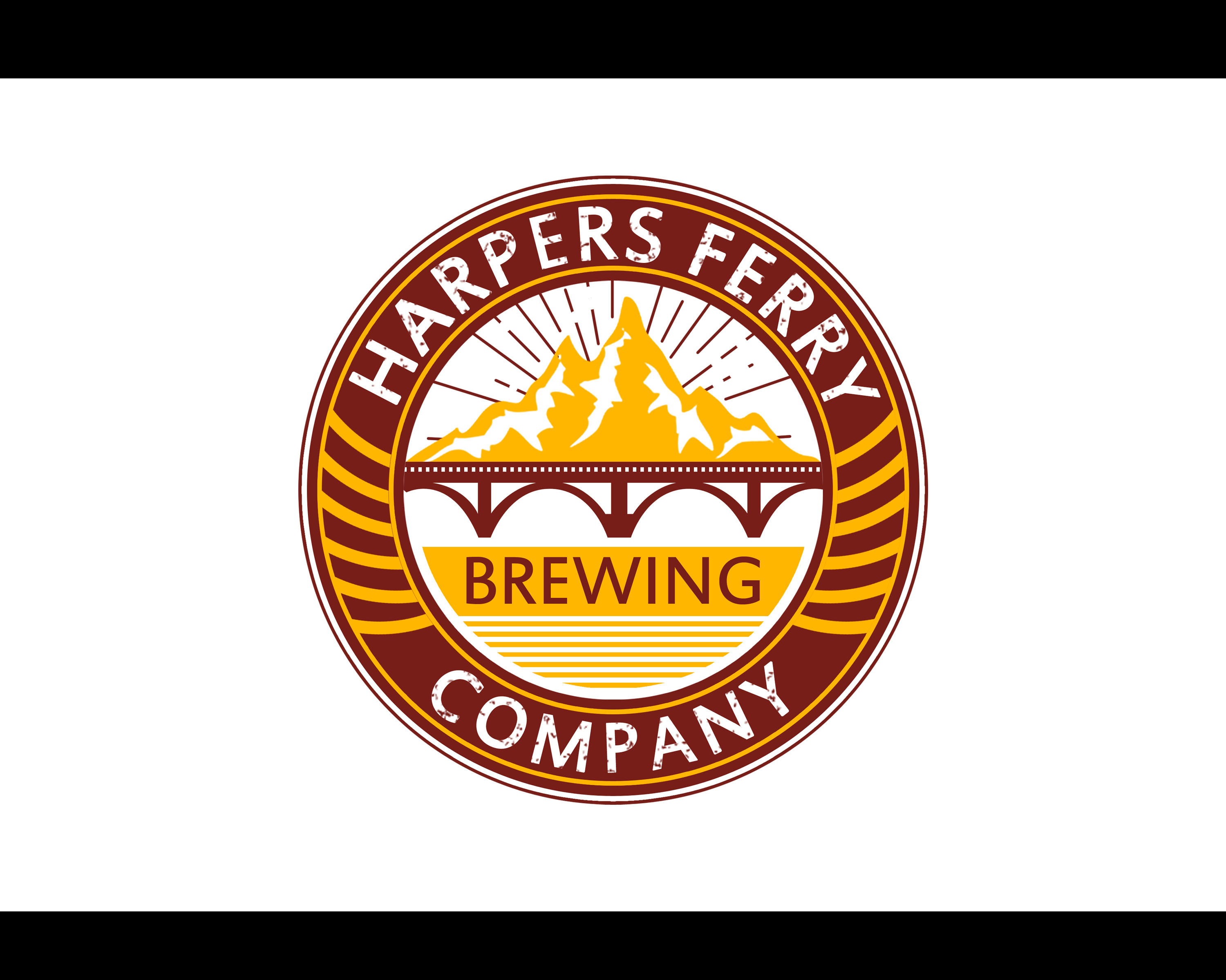 Logo Design by Ian jade Laman - Entry No. 121 in the Logo Design Contest Unique Logo Design Wanted for Harpers ferry brewing company.