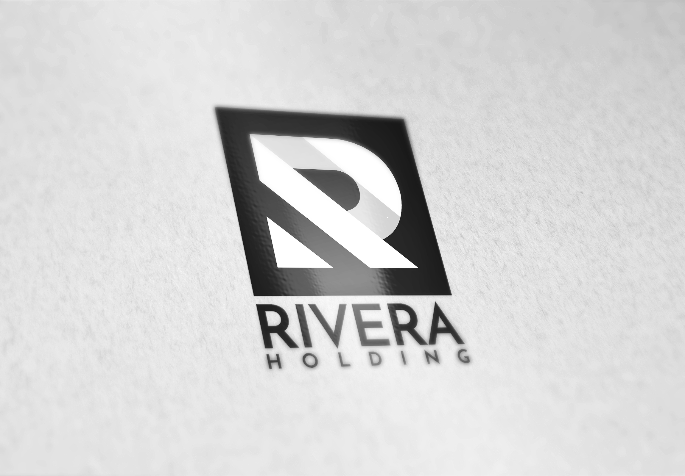 Logo Design by Vivek Das - Entry No. 15 in the Logo Design Contest RIVERA HOLDING Logo Design.