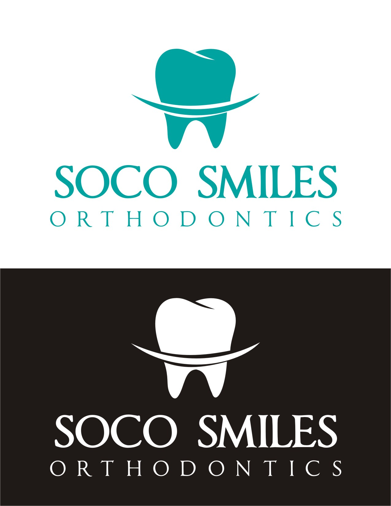 Logo Design by Spider Graphics - Entry No. 75 in the Logo Design Contest Unique Logo Design Wanted for SoCO Smiles Orthodontics.