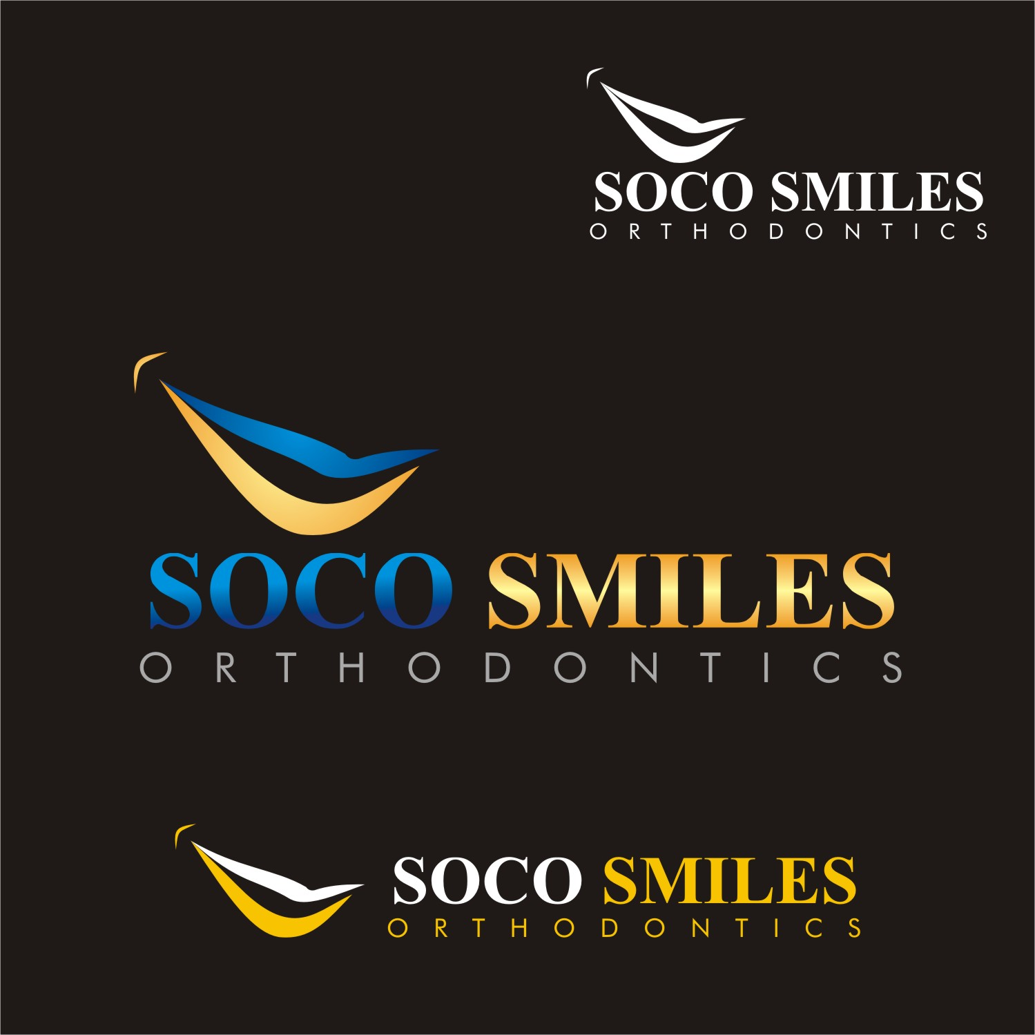 Logo Design by Spider Graphics - Entry No. 76 in the Logo Design Contest Unique Logo Design Wanted for SoCO Smiles Orthodontics.