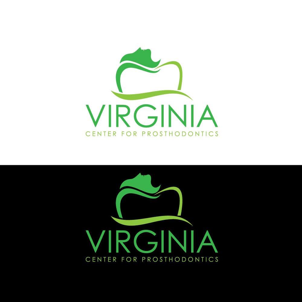 Logo Design by Private User - Entry No. 21 in the Logo Design Contest Imaginative Logo Design for Virginia Center for Prosthodontics.