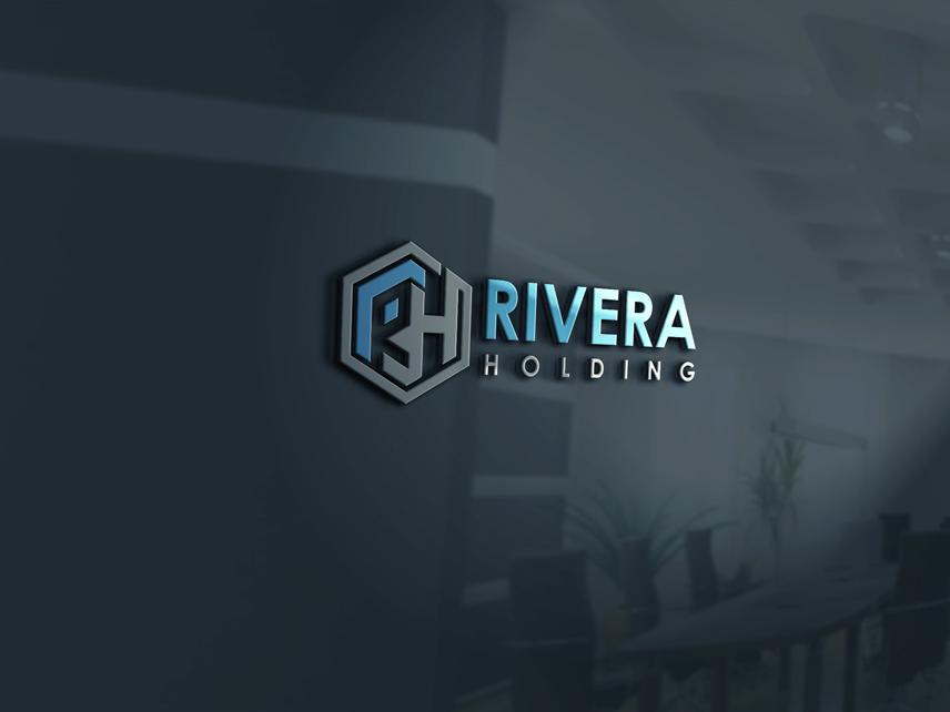 Logo Design by Private User - Entry No. 25 in the Logo Design Contest RIVERA HOLDING Logo Design.
