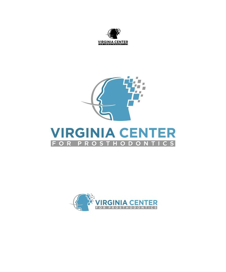 Logo Design by Raymond Garcia - Entry No. 25 in the Logo Design Contest Imaginative Logo Design for Virginia Center for Prosthodontics.