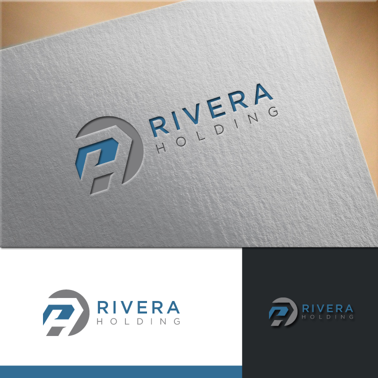 Logo Design by RasYa Muhammad Athaya - Entry No. 39 in the Logo Design Contest RIVERA HOLDING Logo Design.