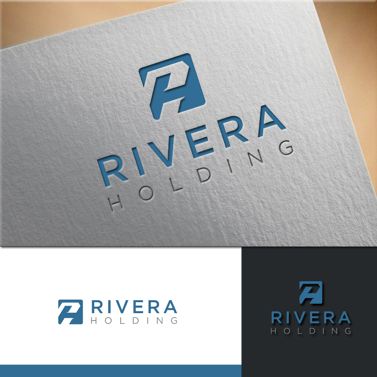Logo Design by RasYa Muhammad Athaya - Entry No. 40 in the Logo Design Contest RIVERA HOLDING Logo Design.