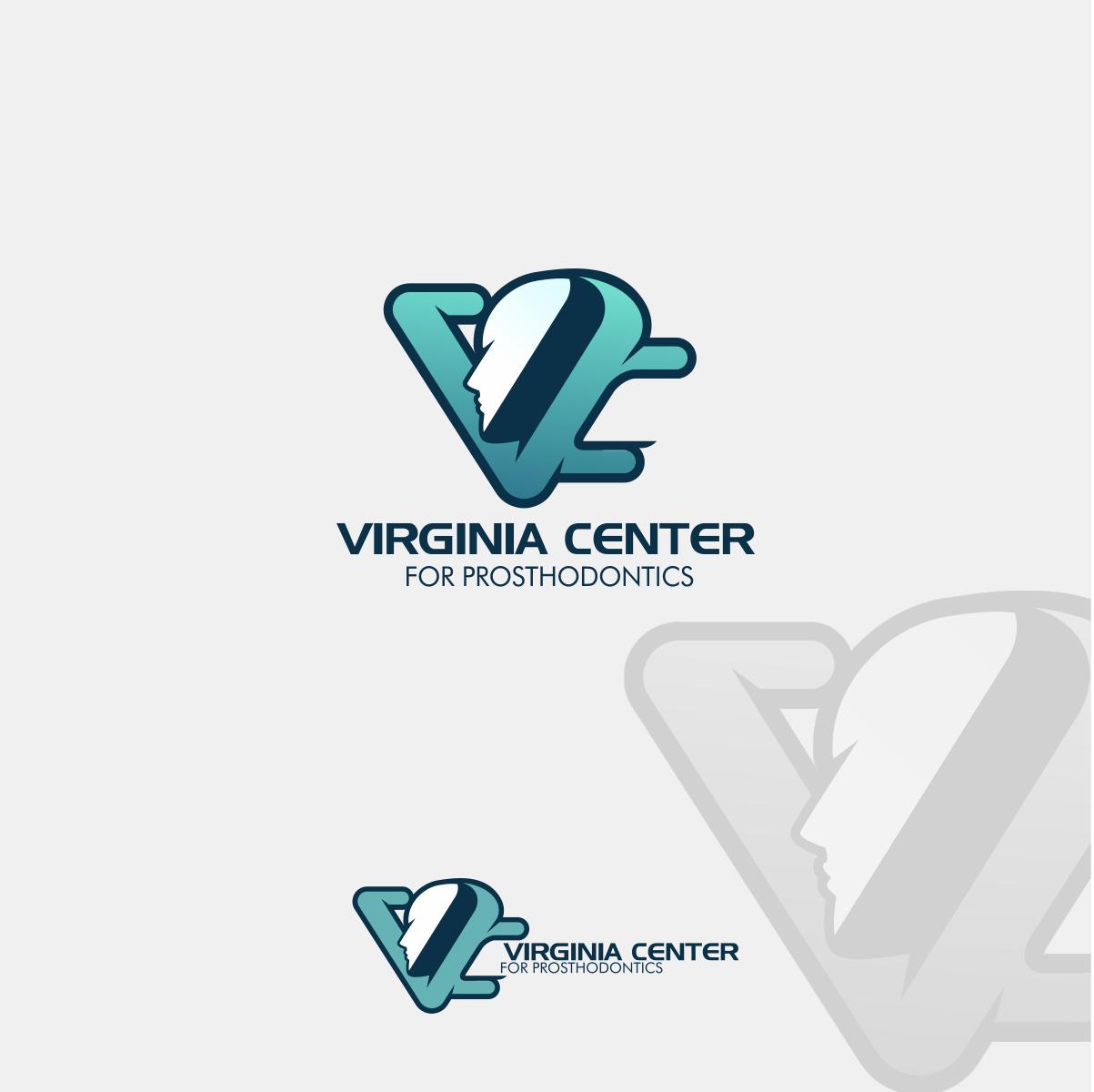 Logo Design by Private User - Entry No. 26 in the Logo Design Contest Imaginative Logo Design for Virginia Center for Prosthodontics.