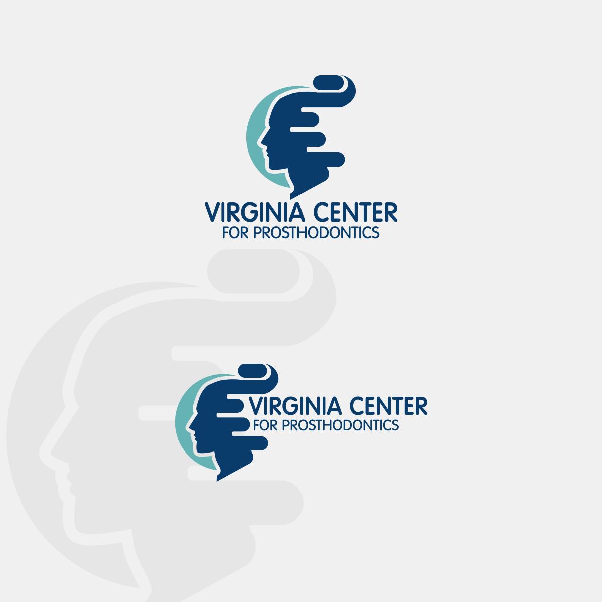 Logo Design by Private User - Entry No. 27 in the Logo Design Contest Imaginative Logo Design for Virginia Center for Prosthodontics.