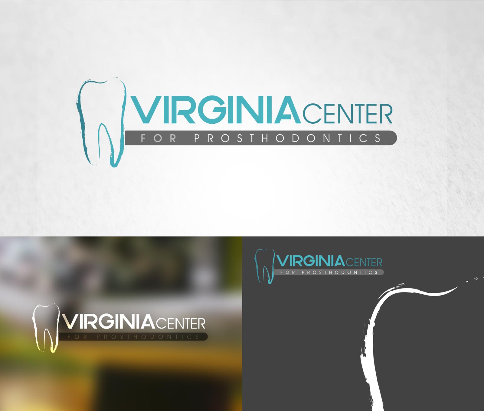 Logo Design by Mostafa Hegazy - Entry No. 29 in the Logo Design Contest Imaginative Logo Design for Virginia Center for Prosthodontics.