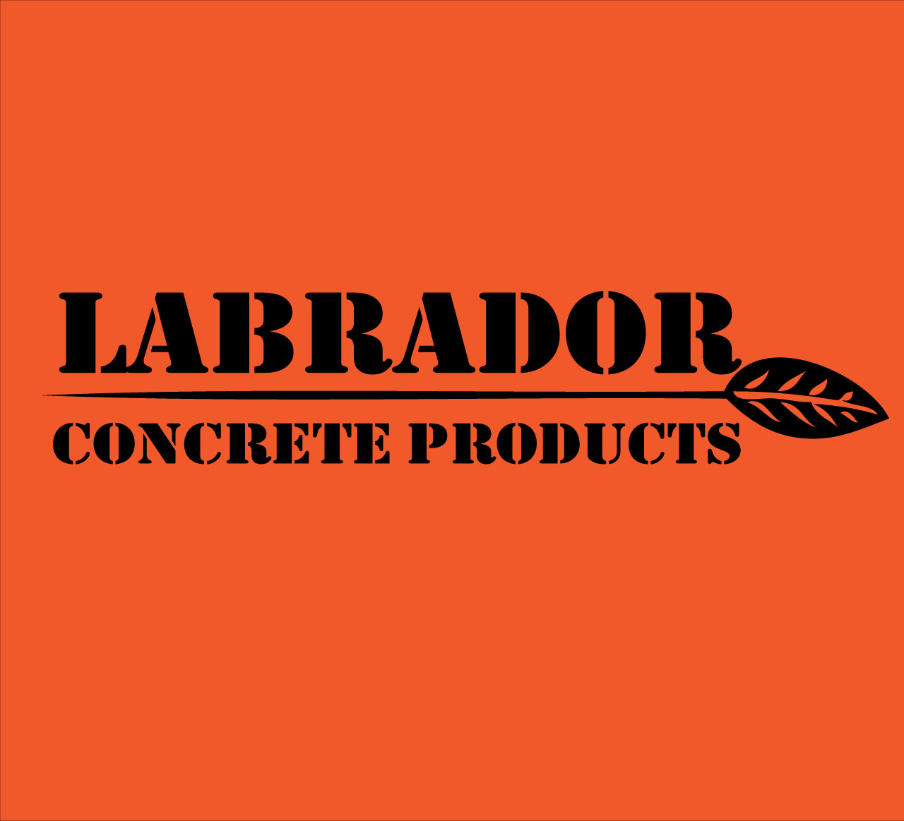 Logo Design by Ethan Waller - Entry No. 139 in the Logo Design Contest Logo for Labrador Concrete Products.
