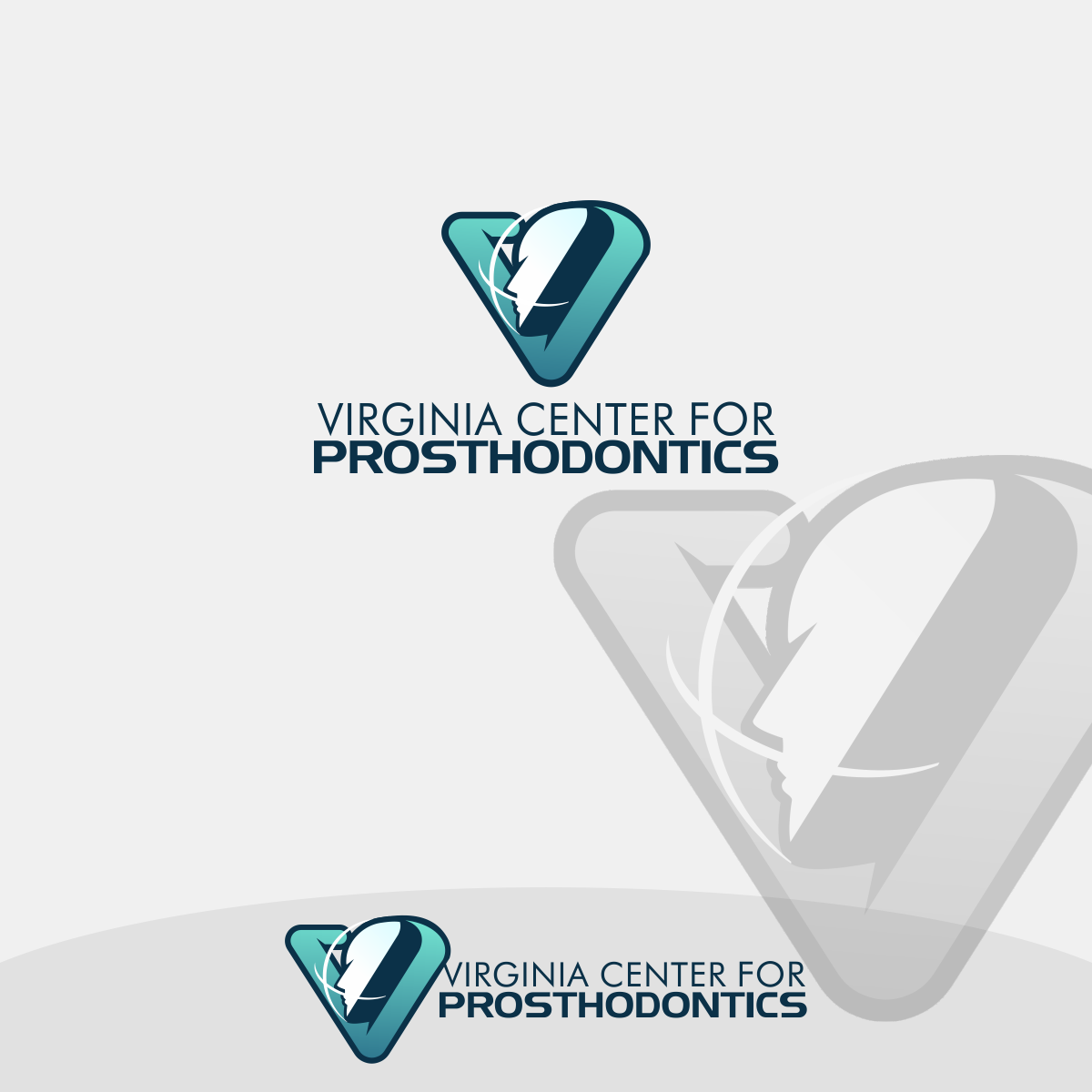 Logo Design by Private User - Entry No. 40 in the Logo Design Contest Imaginative Logo Design for Virginia Center for Prosthodontics.