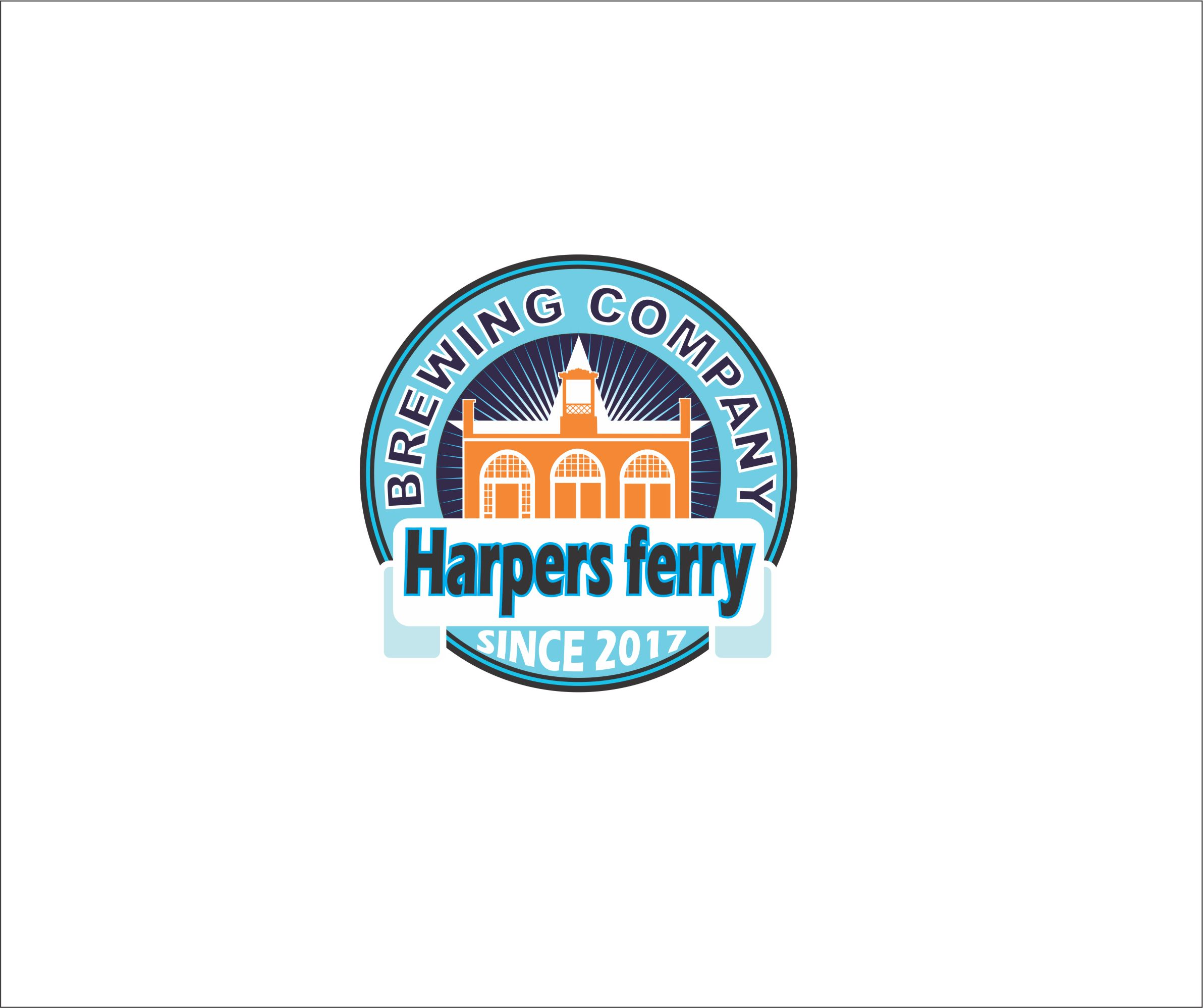 Logo Design by Nikola Kapunac - Entry No. 128 in the Logo Design Contest Unique Logo Design Wanted for Harpers ferry brewing company.