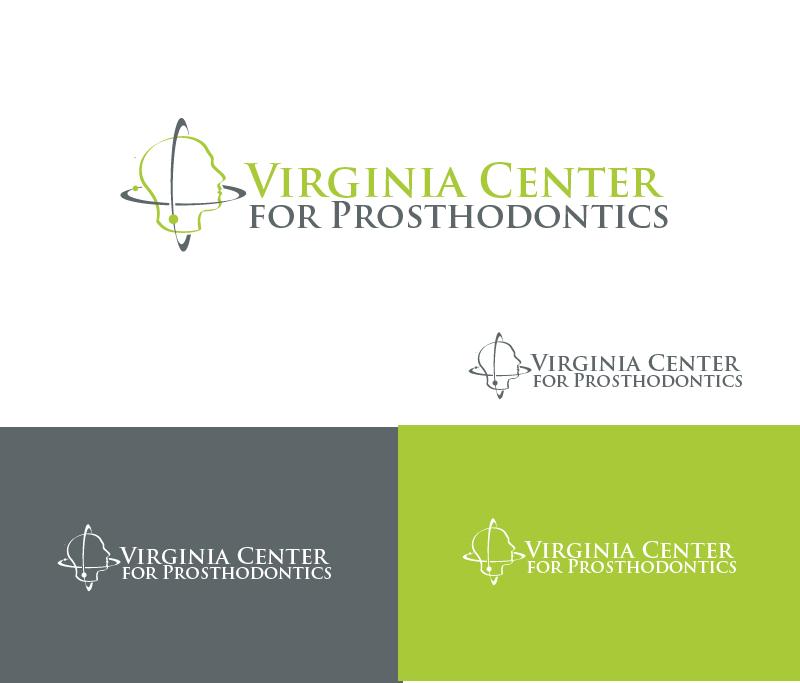 Logo Design by Private User - Entry No. 44 in the Logo Design Contest Imaginative Logo Design for Virginia Center for Prosthodontics.