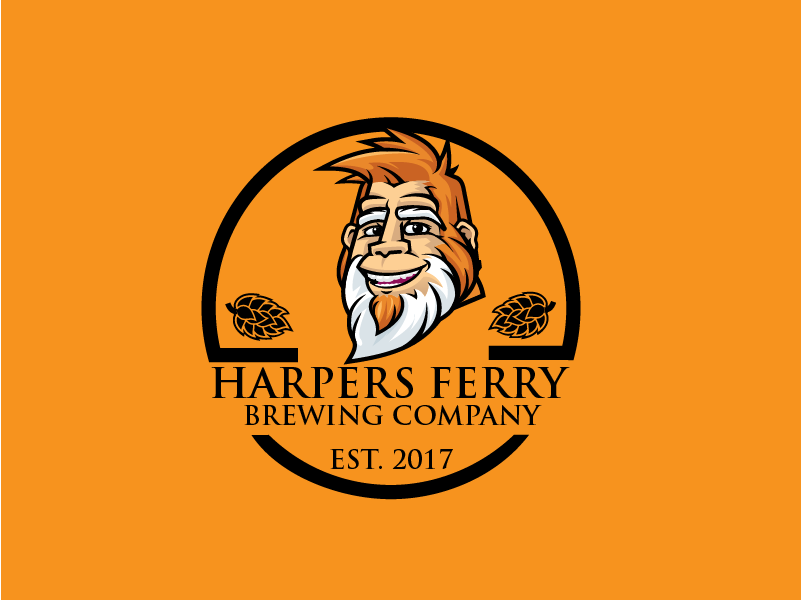 Logo Design by Private User - Entry No. 135 in the Logo Design Contest Unique Logo Design Wanted for Harpers ferry brewing company.