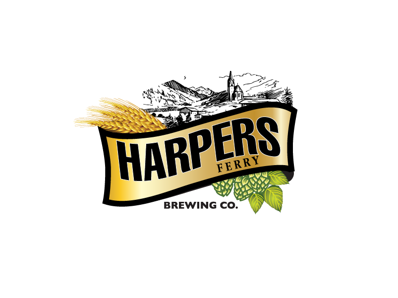 Logo Design by brands_in - Entry No. 136 in the Logo Design Contest Unique Logo Design Wanted for Harpers ferry brewing company.