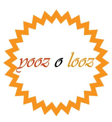 Logo Design by fari - Entry No. 8 in the Logo Design Contest Imaginative Logo Design for Yooz O Looz.